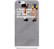 'I Bet You Look On The Dancefloor' By Arctic Monkeys Alternative Poster iPhone Case/Skin