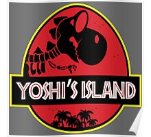 Yoshi's Island (Filled) Poster