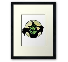 Wicked Witch of the West Framed Print