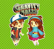 Gravity Falls Cuties by Pluph