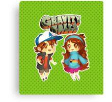Gravity Falls Cuties Canvas Print