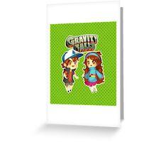 Gravity Falls Cuties Greeting Card