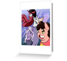 Ponified Steven Universe Greeting Card