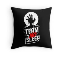 Insomniac Team No Sleep Zombie Hand Throw Pillow