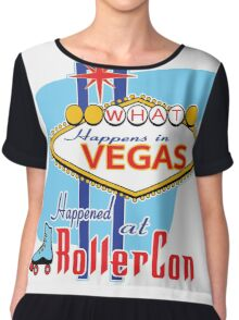 What happens in Vegas HAPPENED at RollerCon Chiffon Top