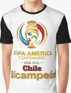 Chile Bicampeón Graphic T-Shirt
