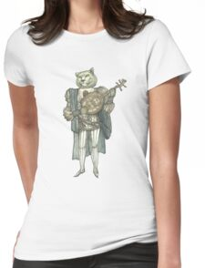 Banjo Lion Womens Fitted T-Shirt