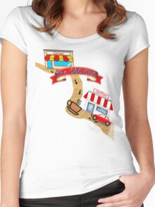 C&C club shirt Women's Fitted Scoop T-Shirt