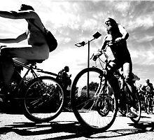 Naked Bike Ride  by Emma Bennett
