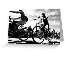 Naked Bike Ride  Greeting Card