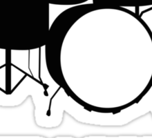 Save A Drum Bang A Drummer Sticker