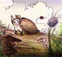 Hedgehog's Spring Day by Jordan Hill