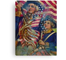 AMERICAN PATRIOT ~ UNAPOLOGETIC Canvas Print