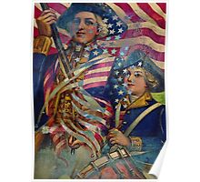 AMERICAN PATRIOT ~ UNAPOLOGETIC Poster