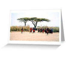 Serengeti - Tanzania Greeting Card