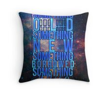 Something Old Throw Pillow
