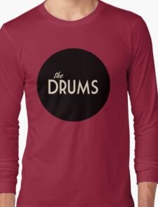 The Drums logo  Long Sleeve T-Shirt