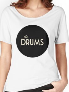 The Drums logo  Women's Relaxed Fit T-Shirt