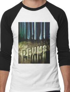 The Drums Self Titled Men's Baseball ¾ T-Shirt