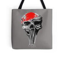 Alien Skeleton Tote Bag