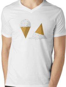 I Scream for Ice Cream Mens V-Neck T-Shirt