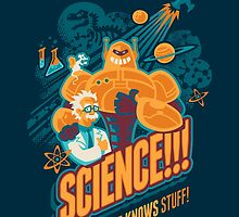 Science!!! It Knows Stuff! (blue) by Waynem79