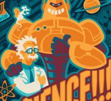 Science!!! It Knows Stuff! (blue) Sticker