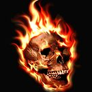 Fire Skull by sastrod8