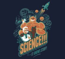 Science!!! It Knows Stuff! One Piece - Long Sleeve