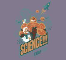Science!!! It Knows Stuff! Kids Tee