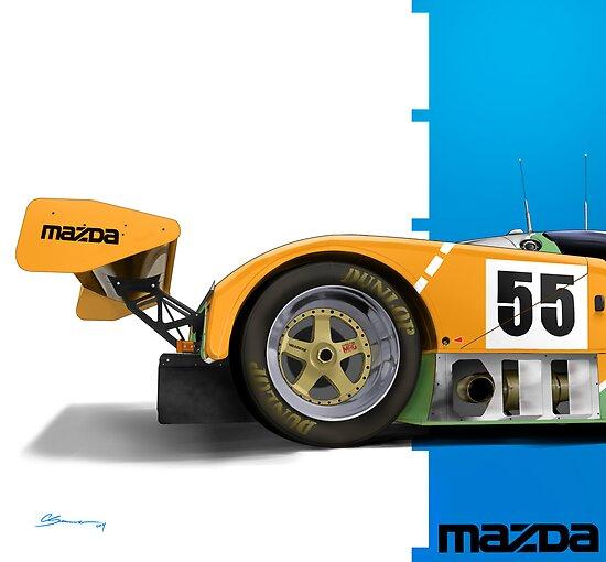Mazda 787b by Swenson750