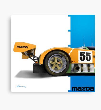 Mazda 787b Canvas Print