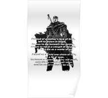 Guts' Verse - Berserk Poster