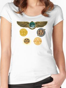 Rick Riordan's Logos Women's Fitted Scoop T-Shirt
