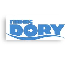 FINDING DORY Canvas Print