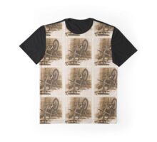 Spinning Wheel Graphic T-Shirt