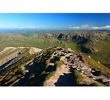 Looking South From Mount Errigal Photographic Print