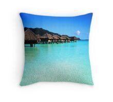 Bora Bora - Tahiti Throw Pillow