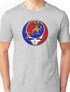 Grateful Dead Skiing Bear Unisex T-Shirt