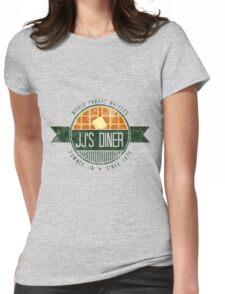 jj's diner - color Womens Fitted T-Shirt