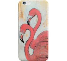 Flamingoes iPhone Case/Skin