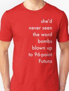 Bombs White T-Shirt