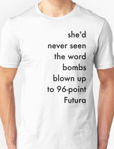 Bombs Black T-Shirt