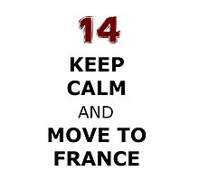 Isaac lahey Keep Calm and Move to France by lovefromlahey