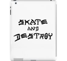 THRASHER SKATE AND DESTROY 2016 iPad Case/Skin