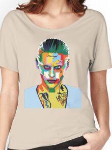 jared leto of joker Women's Relaxed Fit T-Shirt