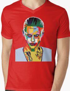 jared leto of joker Mens V-Neck T-Shirt