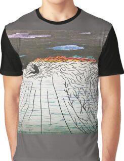 Night Surfing Graphic T-Shirt