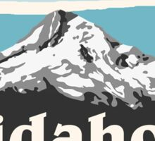 Blue Idaho Sticker