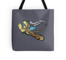 Tiger Flyer Tote Bag